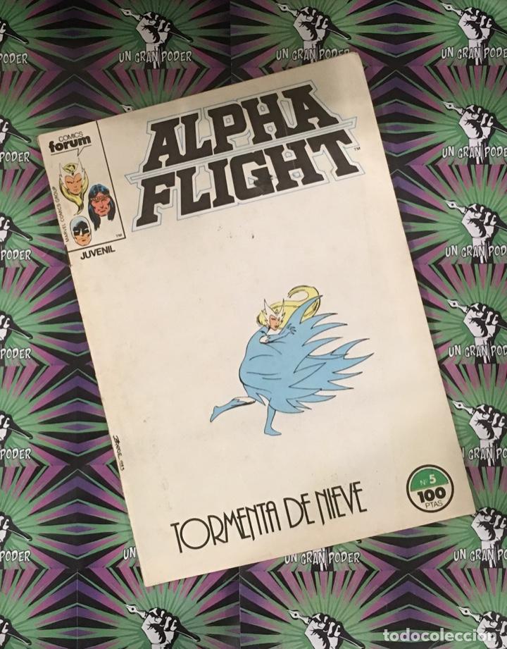 ALPHA FLIGHT VOL.1 #05 (FORUM) (Tebeos y Comics - Forum - Alpha Flight)