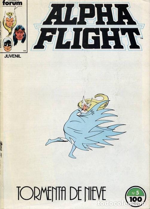 Cómics: ALPHA FLIGHT VOL.1 #05 (FORUM) - Foto 2 - 150311326