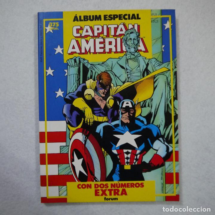 ALBUM ESPECIAL CAPITÁN AMÉRICA - FORUM - 1987 (Tebeos y Comics - Forum - Capitán América)