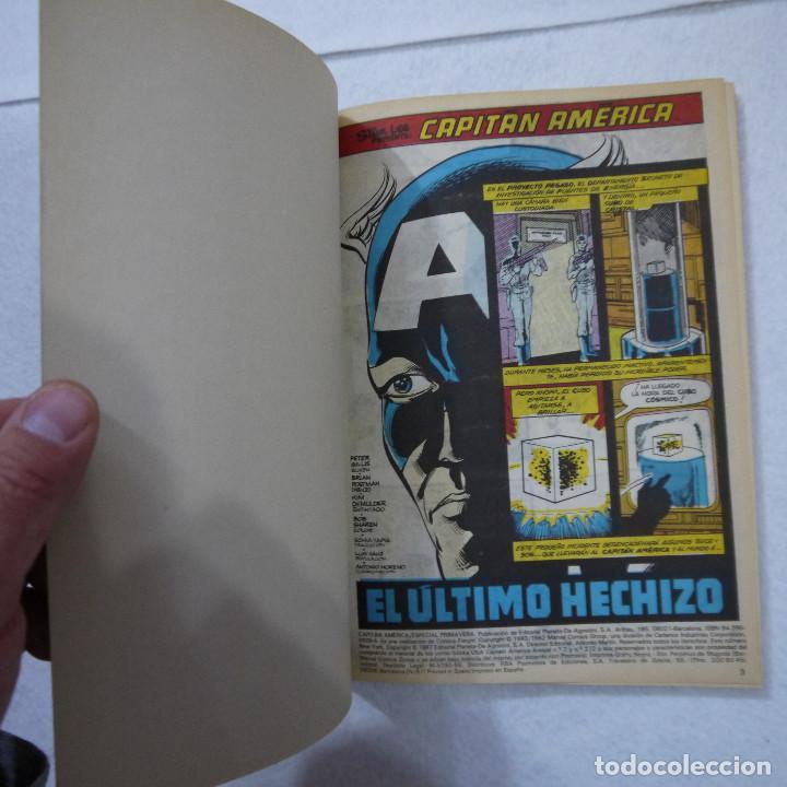 Cómics: ALBUM ESPECIAL CAPITÁN AMÉRICA - FORUM - 1987 - Foto 2 - 150352422