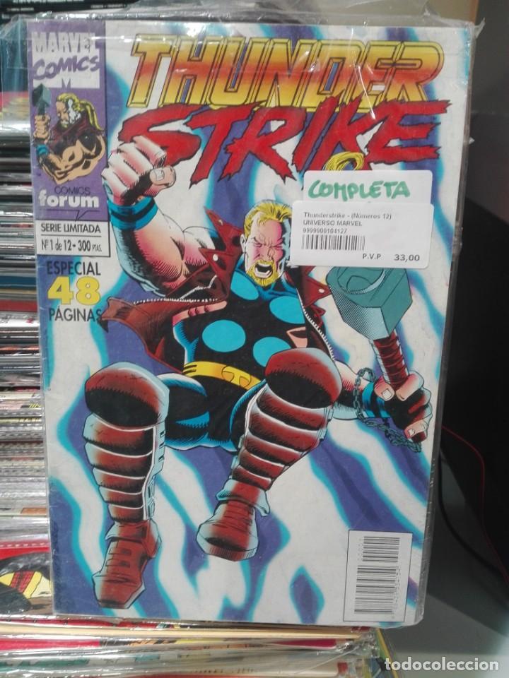 THUNDER STRIKE SERIE LIMITADA COMPLETA # (Tebeos y Comics - Forum - Prestiges y Tomos)