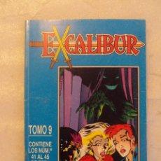 Cómics: EXCALIBUR, COMIC TOMO 9. DEL Nº41 AL Nº45. COMICS FORUM 1992 . Lote 150442962