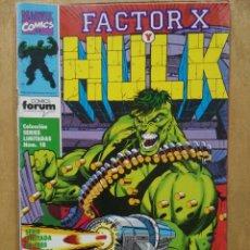 Cómics: FACTOR X Y HULK - Nº 1 - ED. FORUM. Lote 150536870
