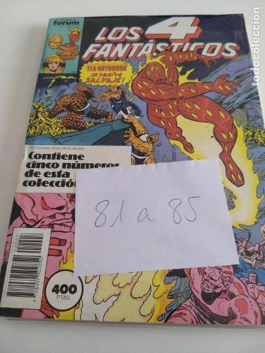 LOS 4 FANTASTICOS. VOL.1 NUMS. 81-82-83-84-85. RETAPADO (Tebeos y Comics - Forum - 4 Fantásticos)