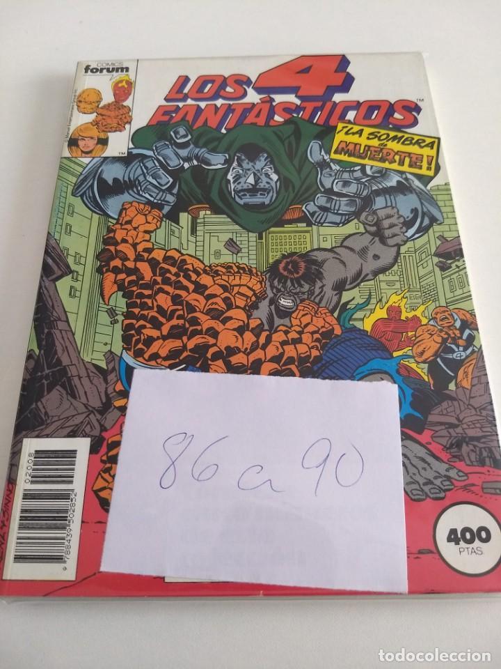 LOS 4 FANTASTICOS. VOL.1 NUMS. 86-87-88-89-90. RETAPADO (Tebeos y Comics - Forum - 4 Fantásticos)