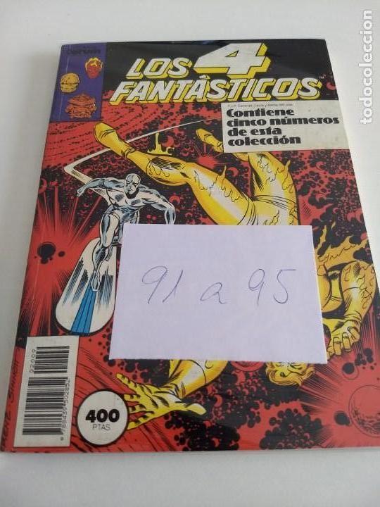 LOS 4 FANTASTICOS. VOL.1 NUMS. 91-92-93-94-95. RETAPADO (Tebeos y Comics - Forum - 4 Fantásticos)