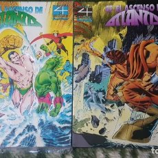 Fumetti: 4 FANTASTICOS: ASCENSO DE ATLANTIS (OBRA COMPLETA 2 TOMOS) - FORUM. Lote 150605382