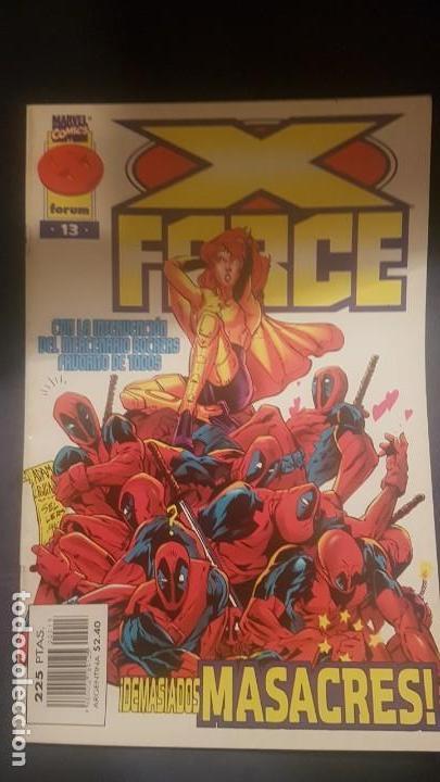 X-FORCE VOL.2 Nº13 - FORUM (Tebeos y Comics - Forum - Patrulla X)