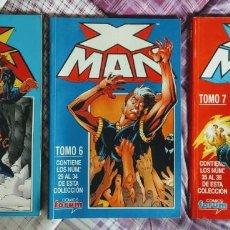 Cómics: X-MAN, RETAPADOS FORUM NUMEROS 1, 6, 7. Lote 150622994