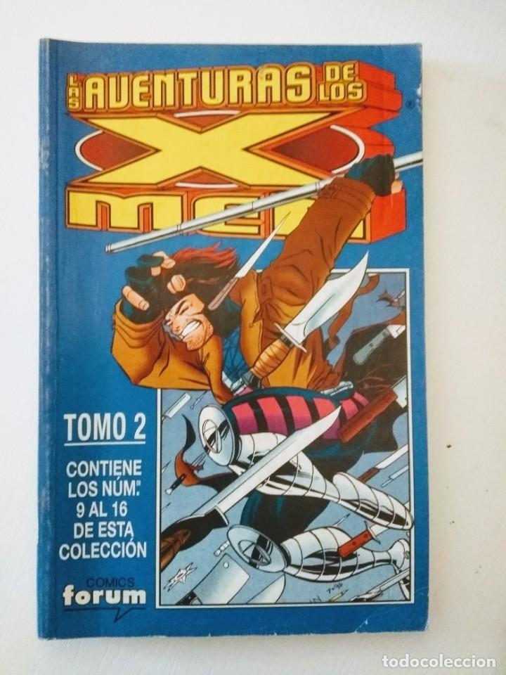 LAS NUEVAS AVENTURAS DE LOS X-MEN VOL 2 - RETAPADO TOMO 2 CON Nº 9 AL 16 - FORUM (Tebeos y Comics - Forum - Retapados)
