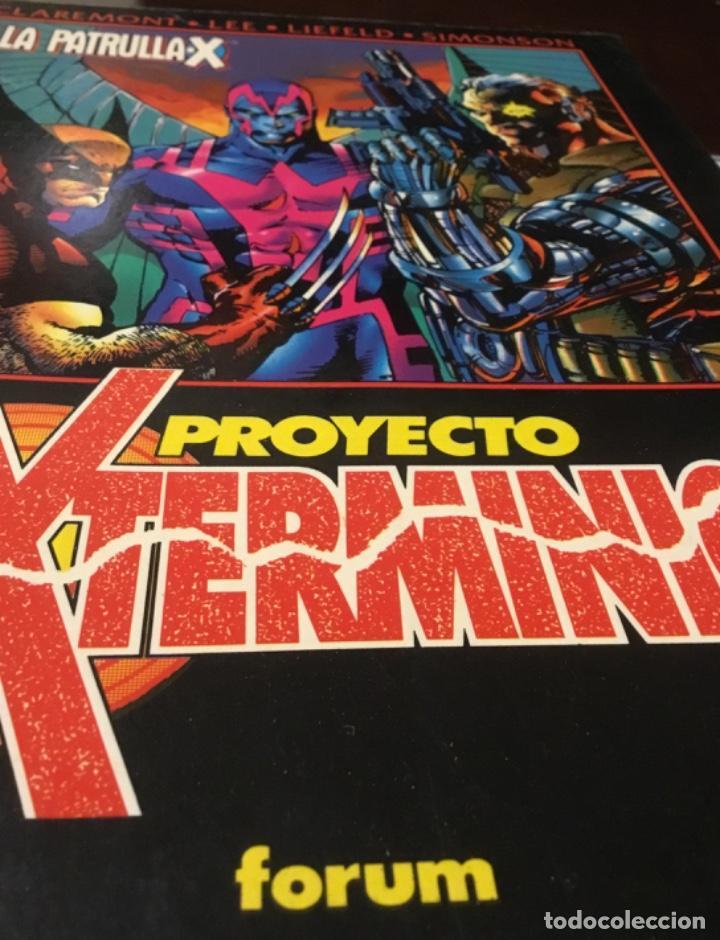 LA PATRULLA X PROYECTO EXTERMINIO 222 PÁGINAS (Tebeos y Comics - Forum - Patrulla X)