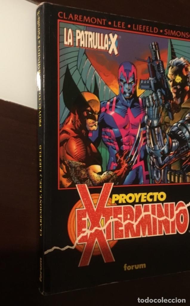 Cómics: La patrulla X proyecto exterminio 222 páginas - Foto 3 - 150674962