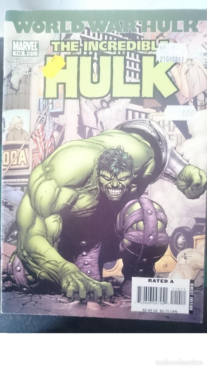 THE INCREDIBLE HULK - COMIC EN INGLES DE ESTADOS UNIDOS (Tebeos y Comics - Forum - Hulk)