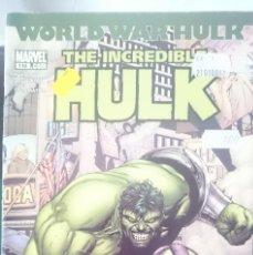 Cómics: THE INCREDIBLE HULK - COMIC EN INGLES DE ESTADOS UNIDOS. Lote 150695874