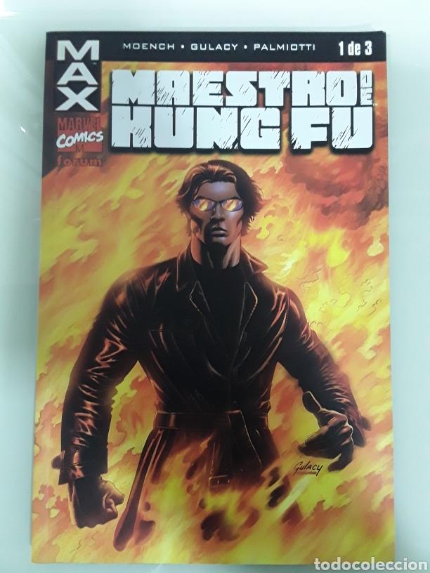 MAX - MAESTRO DE KUNG FU - FORUM (Tebeos y Comics - Forum - Furia)