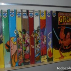 Cómics: SERGIO ARAGONES GROO THE WANDERER 10 Nº CASI COMPLETA A FALTA DEL Nº 11 DEL 1 AL 10 - FORUM -. Lote 150743470
