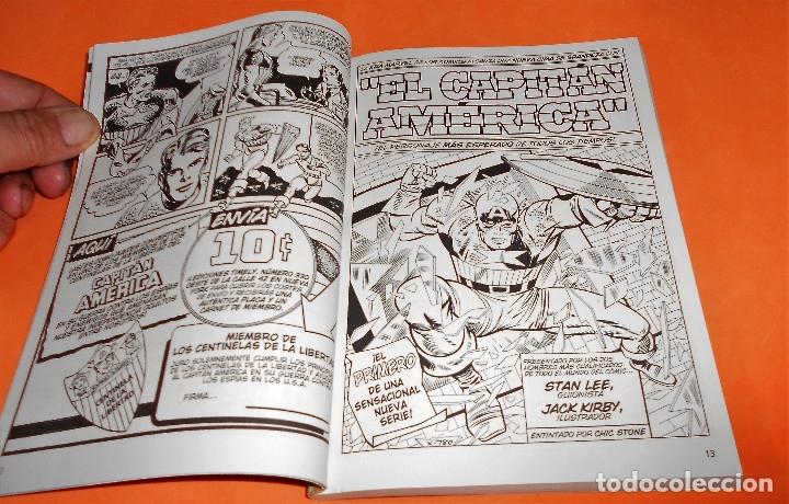 Cómics: CAPITAN AMERICA. BIBLIOTECA MARVEL. 20 NUMEROS. COMPLETA. Y EL Nº 0. MUY BUEN ESTADO. - Foto 7 - 117909491