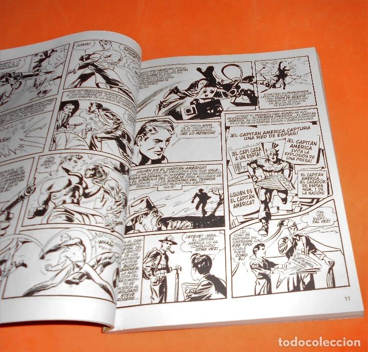 Cómics: CAPITAN AMERICA. BIBLIOTECA MARVEL. 20 NUMEROS. COMPLETA. Y EL Nº 0. MUY BUEN ESTADO. - Foto 8 - 117909491