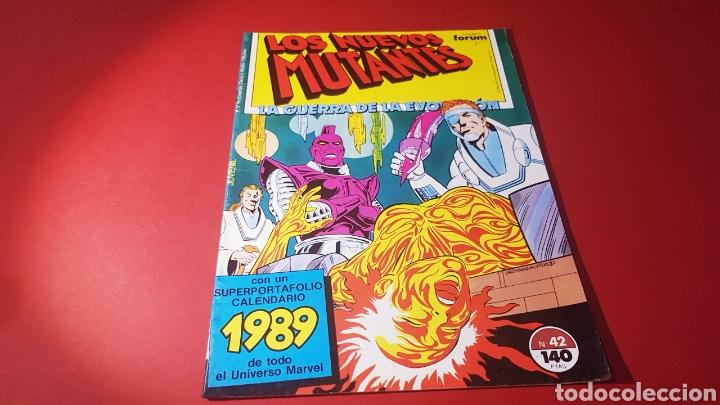 0a84de2d56d7 casi excelente estado los nuevos mutantes 42 fo - Comprar Comics ...