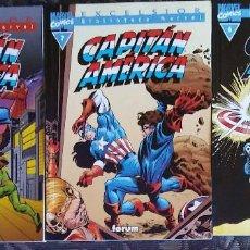Cómics: CAPITÁN AMERICA 6, 7 Y 8 - BIBLIOTECA MARVEL EXCELSIOR. Lote 150762378