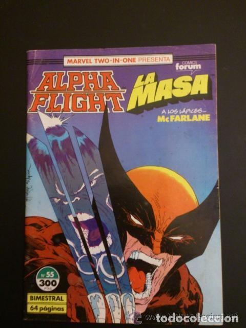 ALPHA FLIGHT. LA MASA. VV. AA. (Tebeos y Comics - Forum - Alpha Flight)