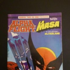 Cómics: ALPHA FLIGHT. LA MASA. VV. AA.. Lote 150806698