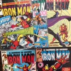 Cómics: LOTE IRON MAN 1-5 VOL. 1 FORUM MARVEL COMICS. Lote 150813776