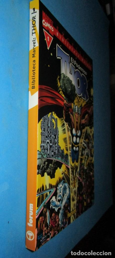 Cómics: EL PODEROSO THOR Nº 1 BIBLIOTECA MARVEL ( STAN LEE JACK KIRBY ) ¡MUY BUEN ESTADO! FORUM - Foto 2 - 150849998