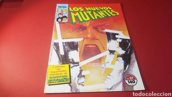 EXCELENTE ESTADO LOS NUEVOS MUTANTES 27 FORUM (Tebeos y Comics - Forum - Nuevos Mutantes)