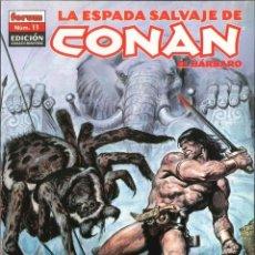 Cómics: LA ESPADA SALVAJE DE CONAN EL BÁRBARO NÚMERO 11 PLANETA DEAGOSTINI. Lote 150948122