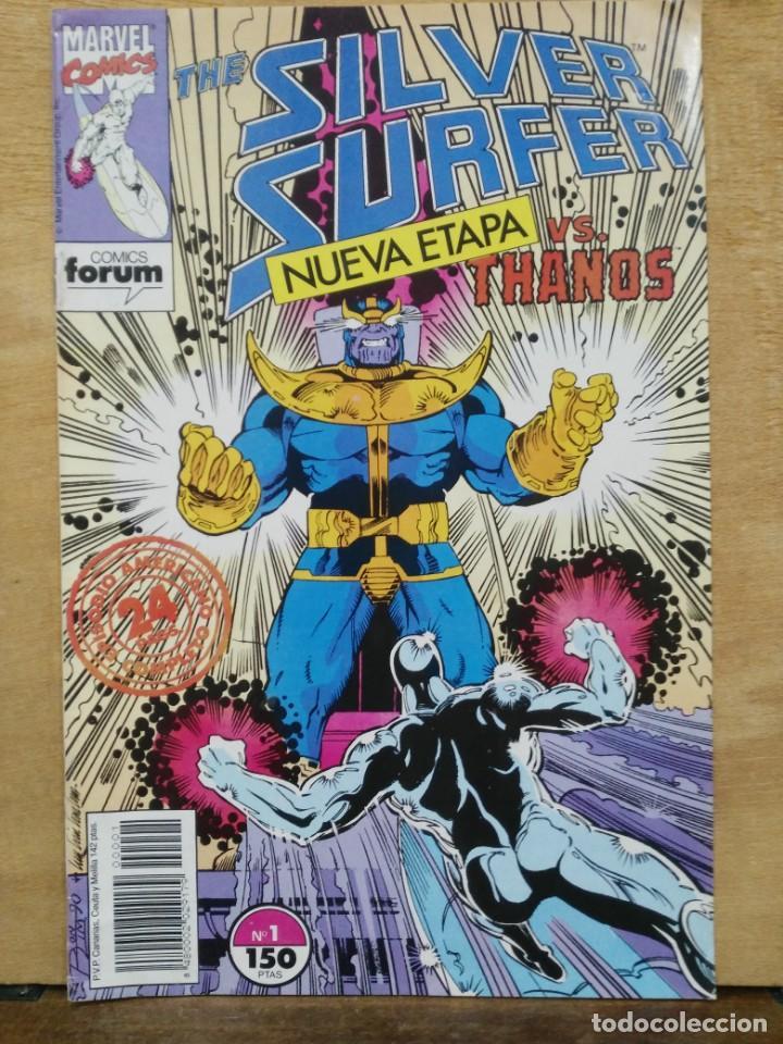 THE SILVER SURFER, NUEVA ETAPA - Nº 1 - ED. FORUM (Tebeos y Comics - Forum - Otros Forum)