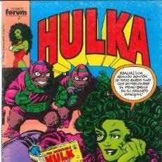 Fumetti: HULKA VOLUMEN 1 NÚMERO 2 CÓMICS FÓRUM MARVEL. Lote 150988870
