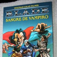 Cómics: BLADE ,SANGRE DE VAMPIRO (MARV WOLFMAN & GENE COLAN): LA TUMBA DE DRACULA. Lote 151019138