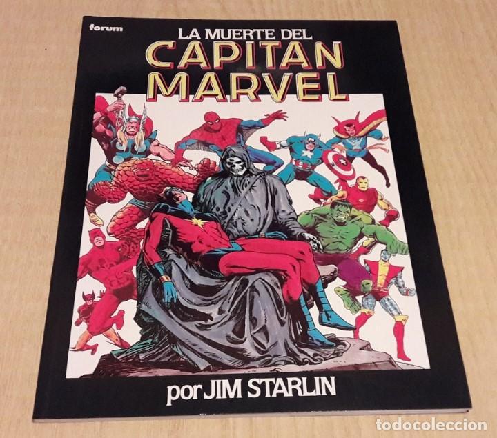 LA MUERTE DEL CAPITAN MARVEL. JIM STARLIN. (Tebeos y Comics - Forum - Prestiges y Tomos)