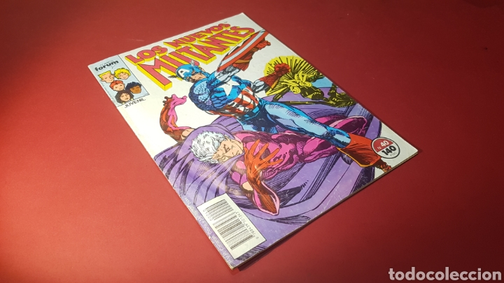 LOS NUEVOS MUTANTES 40 FORUM (Tebeos y Comics - Forum - Otros Forum)
