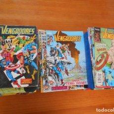 Cómics: LOS VENGADORES VOLUMEN 1 CASI COMPLETA - 125 DE 132 NUMEROS + 7 ESPECIALES - FORUM (HY-HZ). Lote 151229522