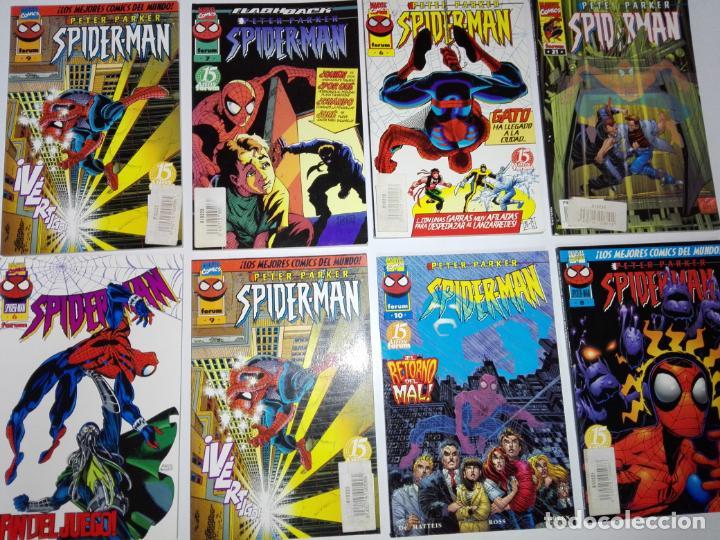 LOTE 8CMICS-SPIDERMAN-NUEVOS-DISTINTOS AÑOS-MARVEL-NOS-VER FOTOS (Tebeos y Comics - Forum - Spiderman)