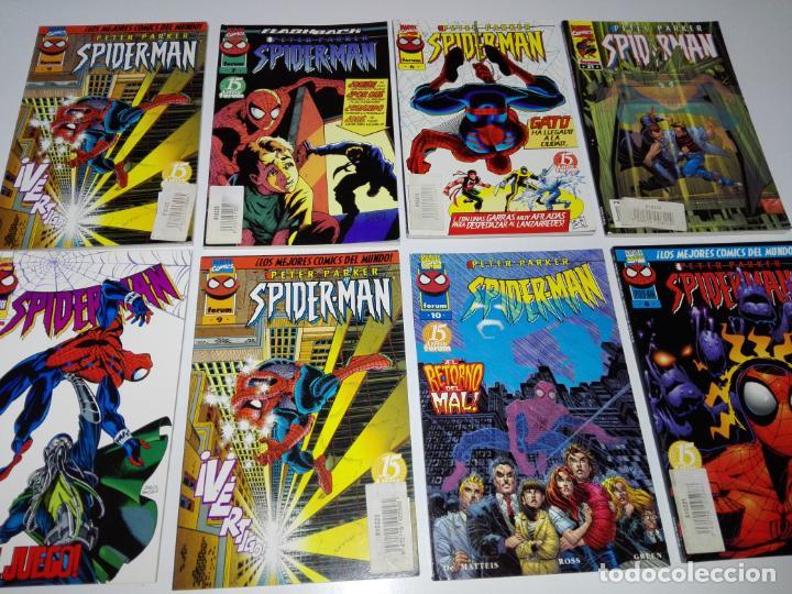 Cómics: lote 8cmics-spiderman-nuevos-distintos años-marvel-nos-ver fotos - Foto 3 - 151335546