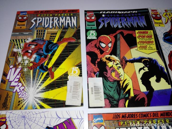 Cómics: lote 8cmics-spiderman-nuevos-distintos años-marvel-nos-ver fotos - Foto 4 - 151335546