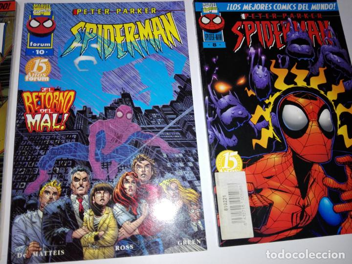 Cómics: lote 8cmics-spiderman-nuevos-distintos años-marvel-nos-ver fotos - Foto 7 - 151335546