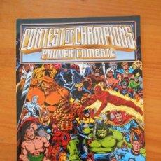 Cómics: CONTEST OF CHAMPIONS - PRIMER COMBATE - FORUM (C1). Lote 151355038