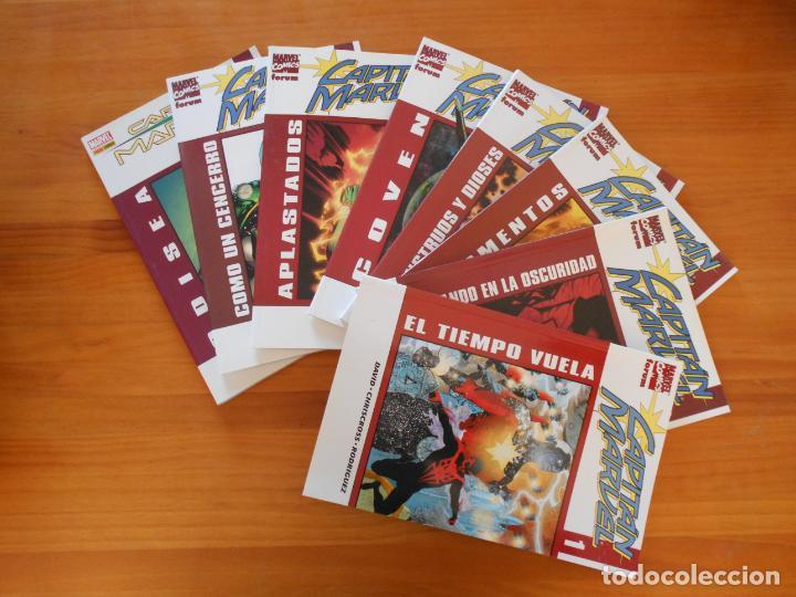 CAPITAN MARVEL COMPLETA - 8 TOMOS - FORUM (U1) (Tebeos y Comics - Forum - Prestiges y Tomos)