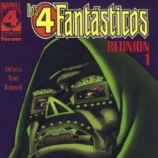 Cómics: 4 FANTASTICOS REUNION COMPLETA 1 Y 2 (DEFALCO / RYAN / BULANADI) - FORUM - BUEN ESTADO - OFI15. Lote 151377942