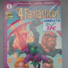 Cómics: LOS 4 FANTASTICOS COMPLETA VOLUMEN 4 #. Lote 151388850