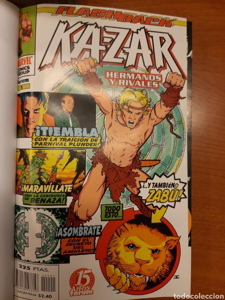KA-ZAR 1 AL 20 COMPLETA* + FLASHBACK KA-ZAR * + ESPECIAL 98 + KA-ZAR DE LA TIERRA SALVAJE (Tebeos y Comics - Forum - Otros Forum)
