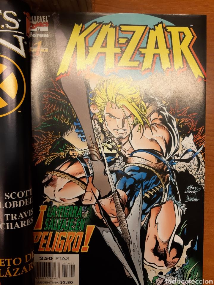 Cómics: Ka-Zar 1 al 20 completa* + Flashback Ka-Zar * + Especial 98 + Ka-Zar de la Tierra Salvaje - Foto 2 - 151400922