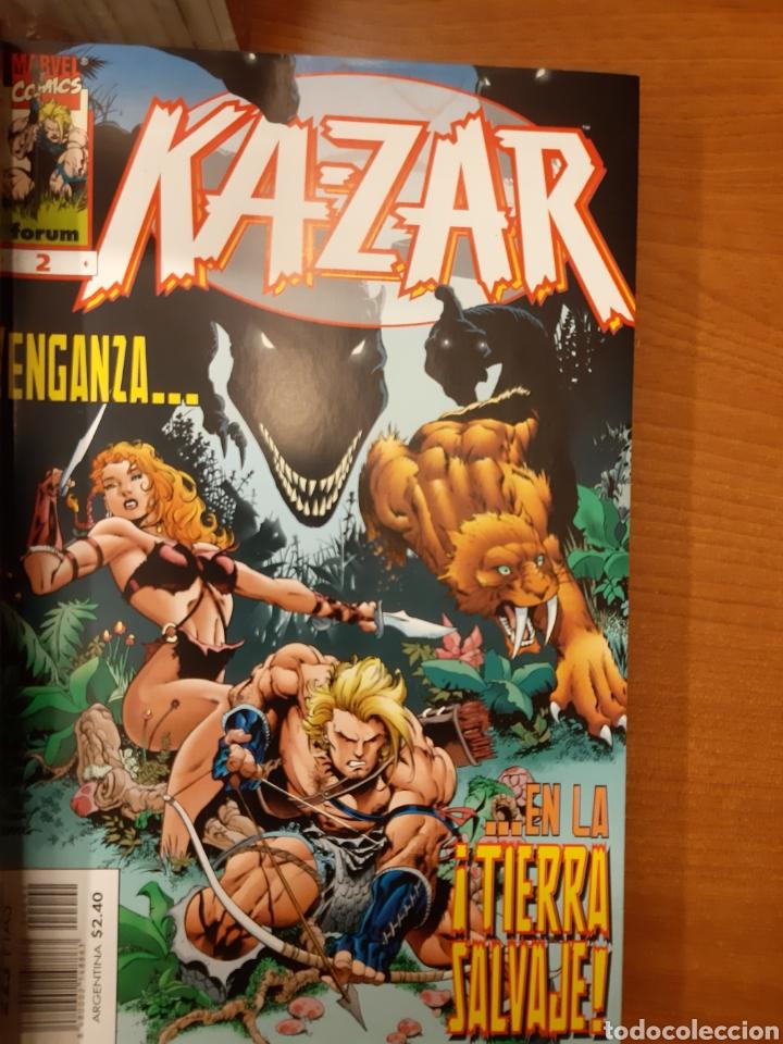 Cómics: Ka-Zar 1 al 20 completa* + Flashback Ka-Zar * + Especial 98 + Ka-Zar de la Tierra Salvaje - Foto 3 - 151400922