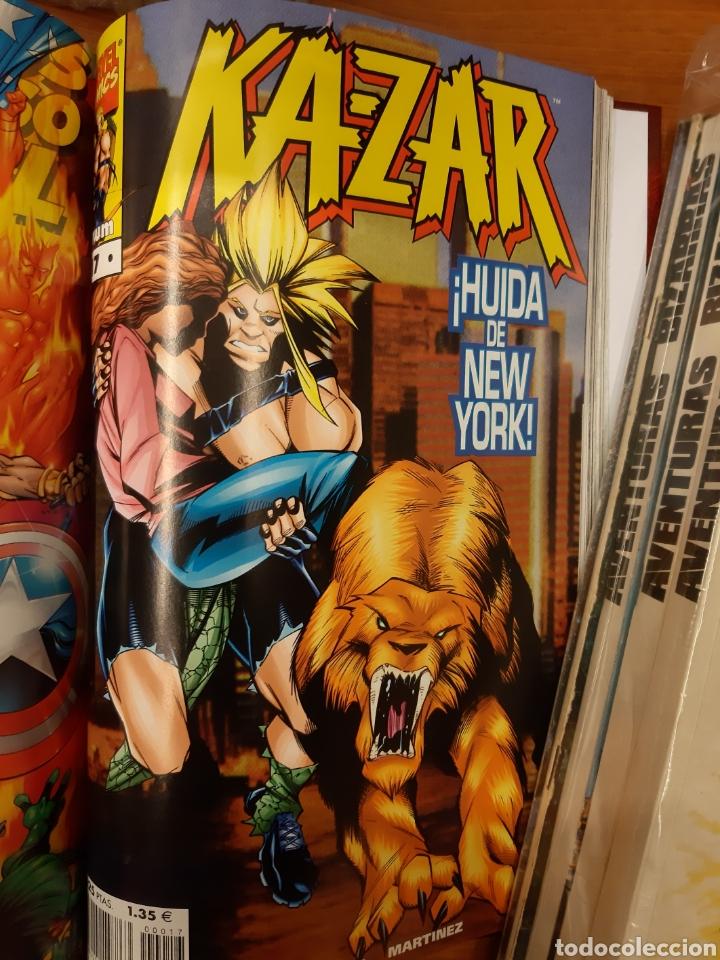 Cómics: Ka-Zar 1 al 20 completa* + Flashback Ka-Zar * + Especial 98 + Ka-Zar de la Tierra Salvaje - Foto 5 - 151400922