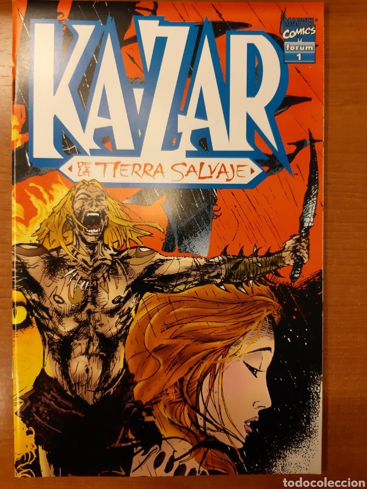 Cómics: Ka-Zar 1 al 20 completa* + Flashback Ka-Zar * + Especial 98 + Ka-Zar de la Tierra Salvaje - Foto 7 - 151400922