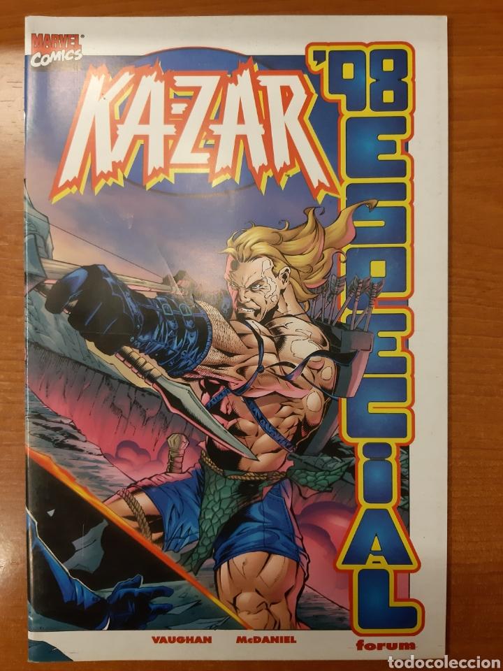 Cómics: Ka-Zar 1 al 20 completa* + Flashback Ka-Zar * + Especial 98 + Ka-Zar de la Tierra Salvaje - Foto 8 - 151400922